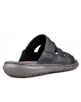 Черни мъжки чехли Reyni в online магазин Fashionzona