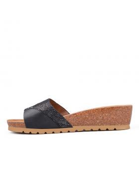 Черни дамски ежедневни чехли Briseida в online магазин Fashionzona