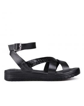 Дамски ежедневни сандали черни 0131371 в online магазин Fashionzona