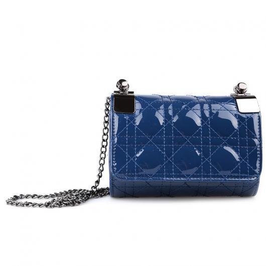Синя дамска елегантна чанта Adelise