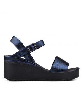 Дамски ежедневни сандали сини 0131373 в online магазин Fashionzona