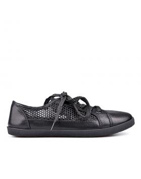 Черни дамски ежедневни обувки 0131272 в online магазин Fashionzona
