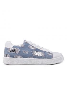Сини дамски кецове 0131265 в online магазин Fashionzona