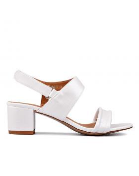 Дамски ежедневни сандали бели 0130307 в online магазин Fashionzona