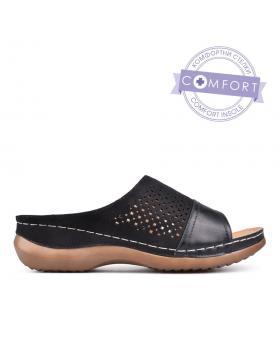 Дамски ежедневни чехли черни 0130141 в online магазин Fashionzona