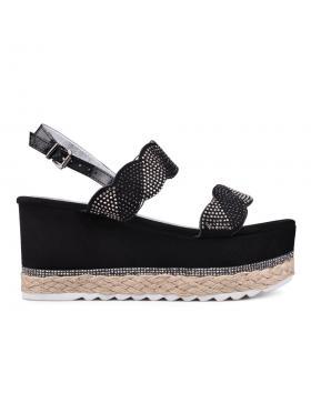 Дамски ежедневни сандали черни 0130271 в online магазин Fashionzona
