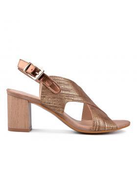 Дамски ежедневни сандали бронзови 0130310 в online магазин Fashionzona