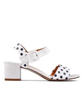 Дамски ежедневни сандали бели 0130298 в online магазин Fashionzona