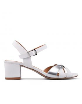 Дамски ежедневни сандали бели 0130273 в online магазин Fashionzona
