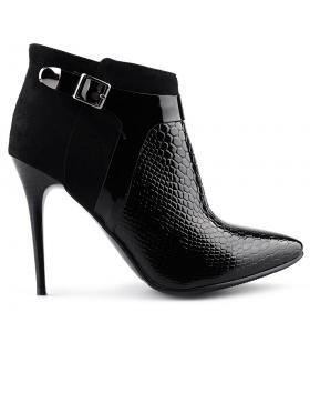 дамски елегантни боти черни 0125443 в online магазин Fashionzona