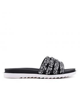 Дамски ежедневни чехли черни 0130343 в online магазин Fashionzona