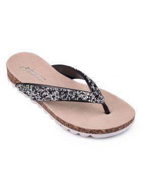 дамски ежедневни чехли черни 0130336 в online магазин Fashionzona