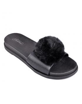 дамски ежедневни чехли черни 0130344 в online магазин Fashionzona