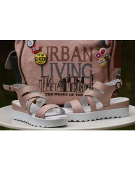 Дамски ежедневни сандали розови 1098 в online магазин Fashionzona