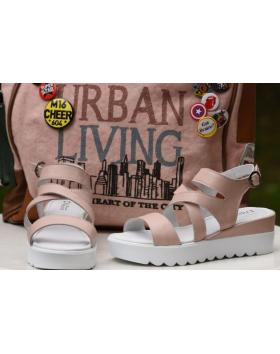 Розови дамски ежедневни сандали Dory в online магазин Fashionzona