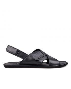 Черни мъжки сандали 0132051 в online магазин Fashionzona