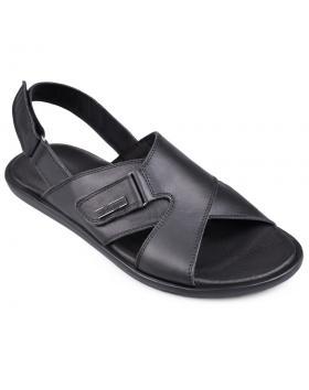 Черни мъжки сандали Manolo в online магазин Fashionzona