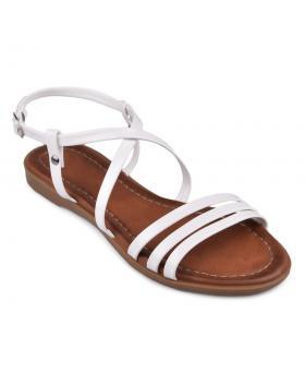 Бели дамски ежедневни сандали Mazine в online магазин Fashionzona