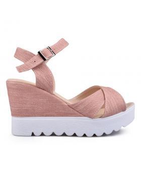 Дамски ежедневни сандали розови 0132493 в online магазин Fashionzona