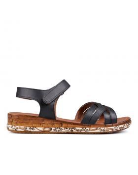 Дамски ежедневни сандали черни 0132487 в online магазин Fashionzona