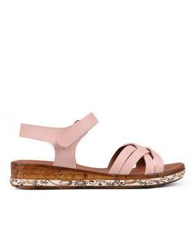 Дамски ежедневни сандали розови 0132485 в online магазин Fashionzona