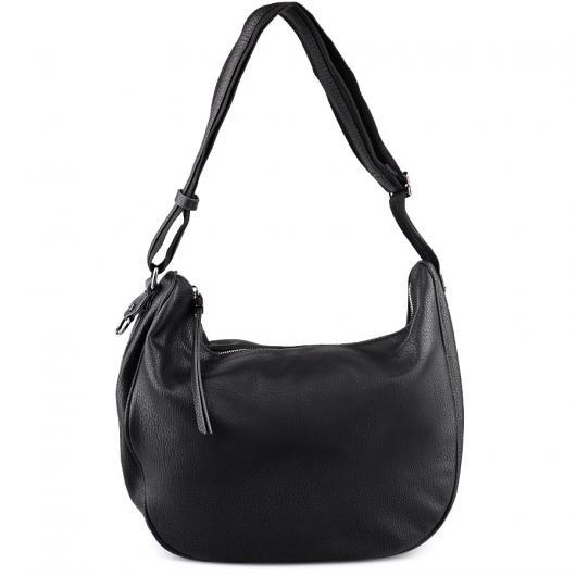 Черна дамска ежедневна чанта Bhavani