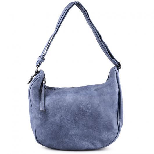 Синя дамска ежедневна чанта Mirtha