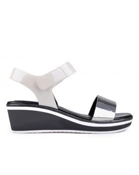 Дамски ежедневни сандали бели 0129791 в online магазин Fashionzona