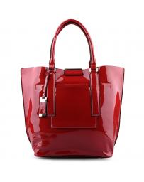 Червена дамска ежедневна чанта Jenina в online магазин Fashionzona