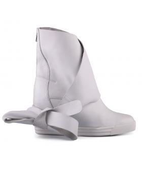 Бели дамски кецове 0127624 в online магазин Fashionzona