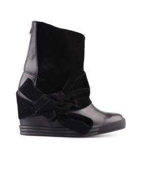Дамски кецове черни 0127623 в online магазин Fashionzona