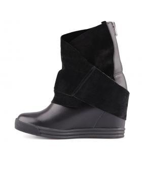 Черни дамски кецове 0127623 в online магазин Fashionzona