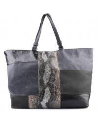 Сива дамска ежедневна чанта Palba в online магазин Fashionzona