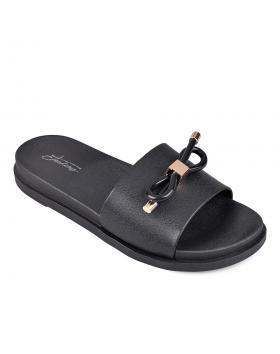 Дамски ежедневни чехли черни 0130350 в online магазин Fashionzona