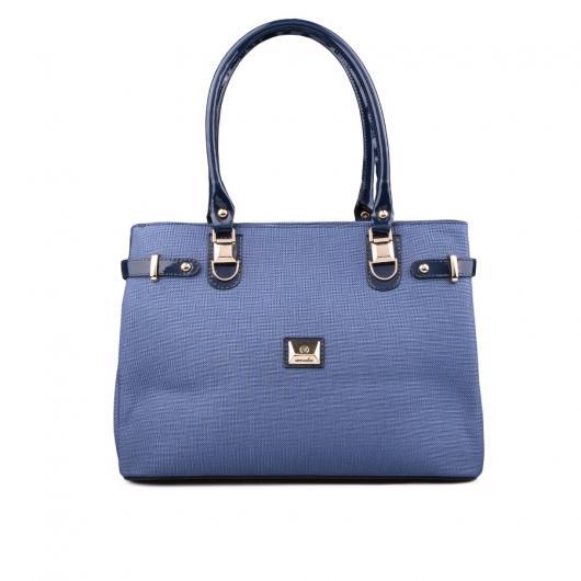 Синя дамска ежедневна чанта Cerisa