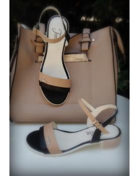 Дамски ежедневни сандали черни 0131412 в online магазин Fashionzona