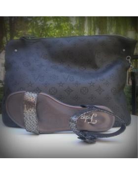 Дамски ежедневни сандали черни 0131398 в online магазин Fashionzona
