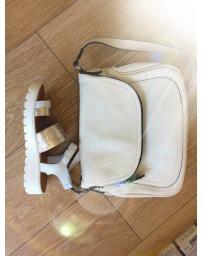 Бели дамски ежедневни сандали Garbine в online магазин Fashionzona