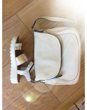 Дамски ежедневни бели сандали1095W в online магазин Fashionzona