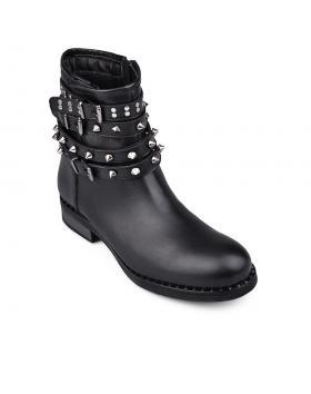 Черни дамски ежедневни боти Kiauna в online магазин Fashionzona