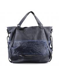дамска ежедневна чанта синя 0125128