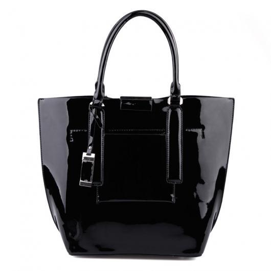 Черна дамска ежедневна чанта Lanita