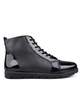 Дамски ежедневни боти черни 0131510 в online магазин Fashionzona