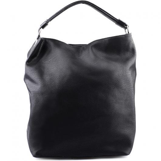 Черна дамска ежедневна чанта Jianna