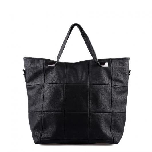 Черна дамска ежедневна чанта Raeka