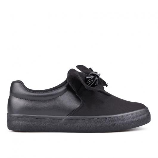 Черни дамски ежедневни обувки 0131462