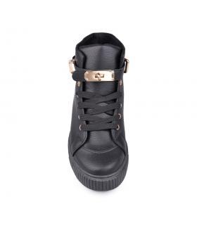 Черни дамски кецове 0131474 в online магазин Fashionzona