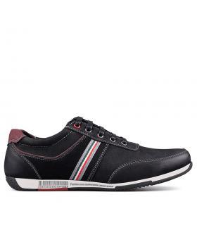 Черни мъжки кецове 0131661 в online магазин Fashionzona