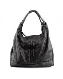 Сива дамска ежедневна чанта Daveney в online магазин Fashionzona