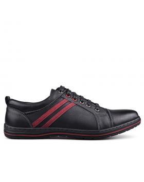 Черни мъжки кецове 0131652 в online магазин Fashionzona